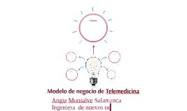 Modelo de negocio de Telemedicina