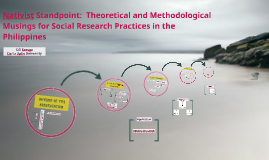 Nativist Standpoint: Theoretical and Methodological Musings for Social Research Practices in the Philippines