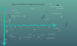 Worst and Best Indigenous Events