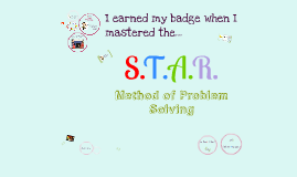 Copy of STAR Method of Problem Solving