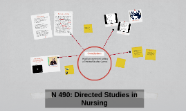 N 490: Directed Studies in Nursing