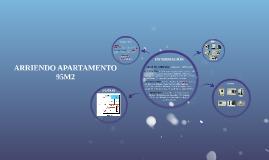 ARRIENDO APARTAMENTO 95M2