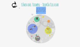 Línea del Tiempo - Teoría Celular