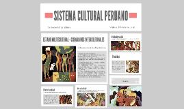 SISTEMA CULTURAL PERUANO
