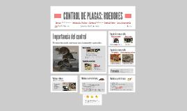 Control de plagas: Roedores