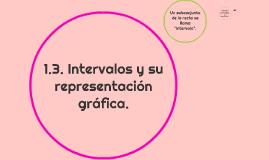 1.3. Intervalos y su representación gráfica.