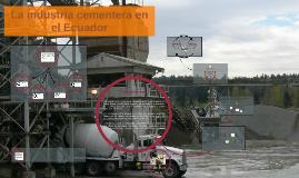 Copy of La industria del cemento en el Ecuador ¿Oligopolio?