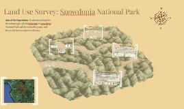 Land Use Survey: Snowdonia National Park