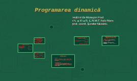 Metoda programării dinamice