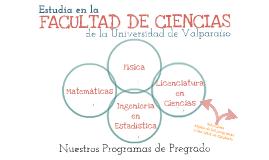 Estudia en la Facultad de Ciencias 2016