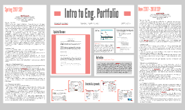 Intro to Eng. Portfolio