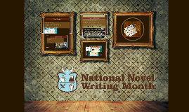 National Writing Month