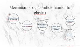 Copia de Mecanismos del condicionamiento