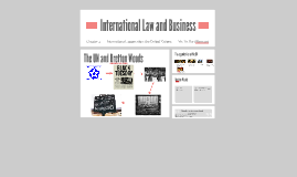 International Law and Business - chapter 4