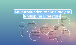 Copy of An Introduction to the Study of Philippine Literature