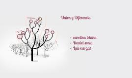 Union y Diferencia.