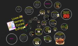 Linea de tiempo Cocina Europea