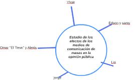 Estudio de los efectos de los medios de comunicación de masa