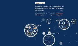 Copy of Evaluación técnica de desempeño en excavación con TBM, para un proyecto hidroeléctrico