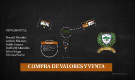 COMPRA DE VALORES Y VENTA