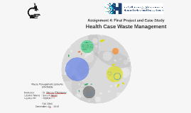 Health Case Waste Management