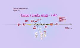 Timovi i timske uloge - 2.dio