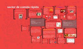 sector de comida rápida