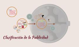 Copy of Clasificación de la Publicidad