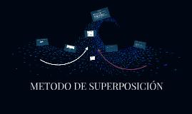 METODO DE SUPERPOSICIÓN