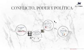 CONFLICTO, PODER Y POLÍTICO