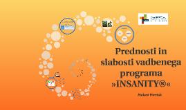 Prednosti in slabosti vadbenega programa »INSANITY®«