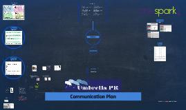 One Spark Communication Plan