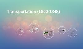 Transportation (1800-1848)