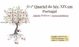 O 1º Quartel do Séc. XIX em Portugal
