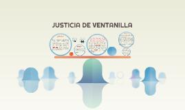 T.D.F justicia ventanilla