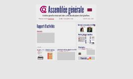 Copy of Assemblée générale OPCQ