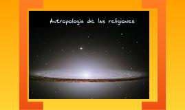 Antropología de las Religiones