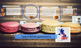 Copy of Typical British gastronomy