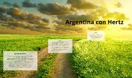 Argentina con Hertz