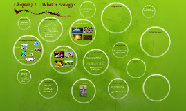 Copy of Chapter 3.1       What is Ecology?