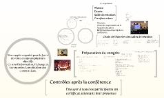 Check-list : Conférences et séminaires avec la force de vente