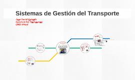 Sistemas de Gestión del Transporte