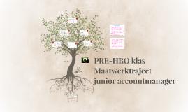 Maatwerktraject junior accountmanager