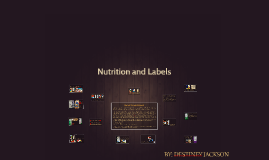 Nutrition and Labels