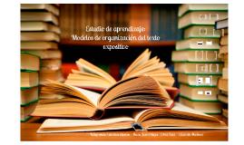 Copy of modelos de organización texto expositivo