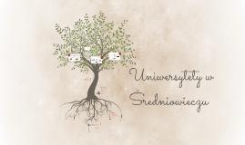 Uniwersytety w Średniowieczu