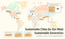 Sustainable Cities for Our Most Sustainable Generation