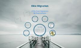 Okie Migration - 1930s Great Depression by Tony Loffredo ...