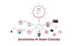 Gerativismo de Noam Chomsky