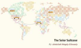 The Solar Suitcase
